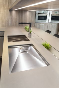 NEOLITH Countertop (Barro model). 100% natural, hygienic, lightweight,  waterproof