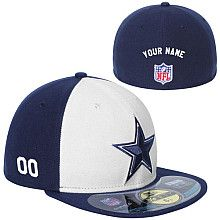 Men s New Era Dallas Cowboys Customized Onfield 59Fifty Football Structured  Fitted Hat Football Gear d74f389d8