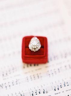 Blush Pink and Red Elegant Wedding Inspiration