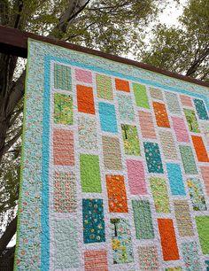 happier bricks quilt - Copy | Flickr - Photo Sharing!