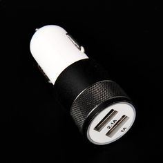 500pcs Mobile Phone Dual Usb Car Charger Smartphone Accessory 12v 2.1a Car-Charger Adapter For iphone htc samsung