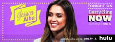 Actress-turned-lifestyle guru Jessica Alba shows us how easy it is to live a natural and toxic-free life with the launch of her book, The Honest Life. She offers Larry some DIY health & beauty tips and opens up about the upcoming Sin City sequel. Watch this full episode of #LarryKingNow on Ora TV & Hulu: http://on.ora.tv/102gVQF