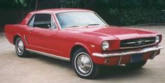 Mustang 1965.  My dad taught me to drive in this car!  Always my favorite!