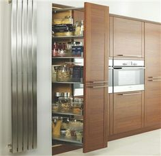 Tall pull out larder cupboard
