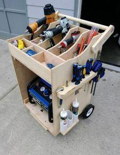 24 Ideas For Tool Storage Ideas CarYou can find Shop storage and more on our Ideas For Tool Storage Ideas Car Garage Organization Tips, Diy Garage Storage, Tool Storage, Storage Ideas, Car Storage, Workbench Organization, Lumber Storage, Workbench Plans Diy, Workbench Designs