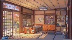 Arseniy Chebynkin is a freelance artist from Russia. If you're wondering what the street/bedroom art in this post is for, it's for an upcoming game set in 80s Japan.