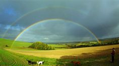 25 Magnificent Looking Rainbow Photography