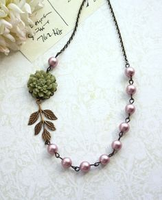 Hey, I found this really awesome Etsy listing at http://www.etsy.com/listing/157261534/olive-green-dahlia-flower-and-pink
