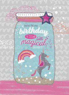 Rebecca Prinn - RP Unicorn Jar Birthday