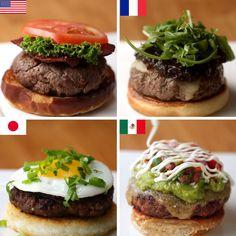 4 Burgers Around the World 🍔