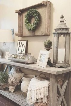 50 Absolutely Stunning Ways To Fall Living Room Decorating Ideas. Nice 50 Absolutely Stunning Ways To Fall Living Room Decorating Ideas. Living Room Decor Read more details by clicking on the image. Diy Home Decor Rustic, Rustic Entryway, Entryway Ideas, Rustic Bench, Country Decor, Entryway Console, Rustic Wood, Rustic Modern, Rustic Shelves