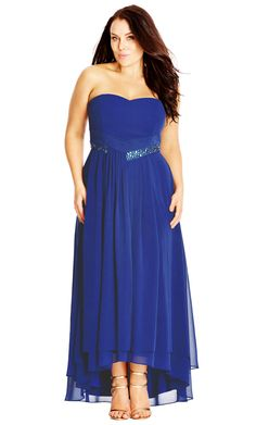 City Chic Beaded Dream Dress - Women's Plus Size Fashion - City Chic Your…