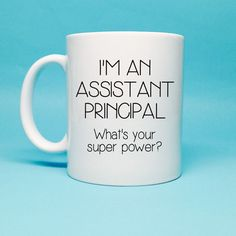 Funny Coffee Mug  Assistant Principal Gift  by TheCoffeeCorner