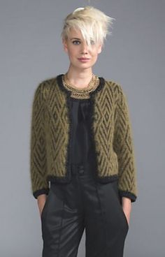 The wool atelier: model 03 Helen The wool atelier: model 03 HelenCardigan with structure Learn how to make the famous Katniss Crochet Cowl Free Pattern. Crochet Cowl Free Pattern, Sweater Knitting Patterns, Cardigan Pattern, Jacket Pattern, Crochet Cardigan, Knitting Designs, Knit Patterns, Hand Knitting, Knit Crochet