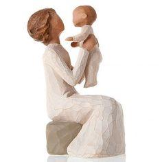 Willow Tree figurine Grandmother - nonna con nipotina | vendita online su…
