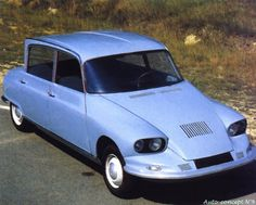 OG   Citroën C60   Prototype (future Ami6)