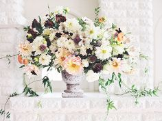 As Ever Photography / Grey Likes Weddings / Wedding Florals / Centerpiece