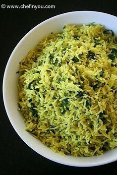 Methi Pulao Recipe |  Methi Rice recipe |  Indian Pulao Recipes