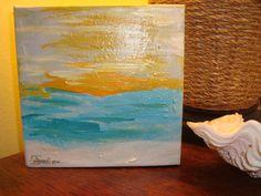 Sunrise Original Painting by MyHoneypickles on Etsy, $29.00