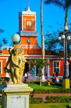 Barranco Park, Lima, Peru