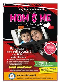 Please participate, if you are a mother of a 5 year or below; win awesome prizes only at #RhythmsKinderworld #MomNMe