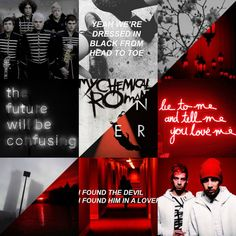 Requested! Cancer red and black moodboard! (My edit)