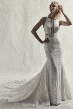 24512 Sloane by Sottero & Midgley. Try this beauty on at Aurora Bridal in Melbourne, FL