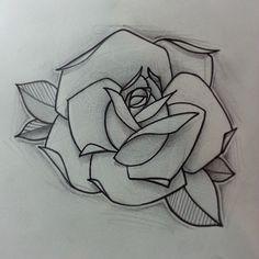 Resultado de imagen de rose tattoo design