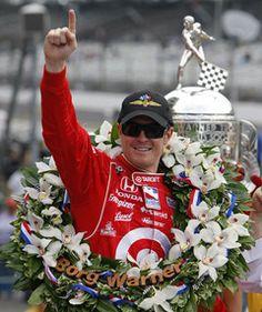 2008 Indy 500 winner - Scott Dixon, New Zealand; Dallara- Honda.  Chip Ganassi, owner