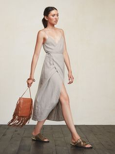 For your consideration, the wrap dress. With the Charlotte Dress you can adjust the tightness to fit your day, 'cause let's face it, we have bloated days and skinny days. https://www.thereformation.com/products/charlotte-dress-dune?utm_source=pinterest&utm_medium=organic&utm_campaign=PinterestOwnedPins