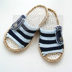 ♥♥♥♥♥♥♥♥♥♥♥♥♥♥♥♥♥♥♥♥ Even they have a knitted look, these slippers are made entirely using BASIC CROCHET STITCHES !!! ♥♥♥♥♥♥♥♥♥♥♥♥♥♥♥♥♥♥♥♥ MAKE THESE BEAUTIFUL SLIPPERS FOR THE MEN THAT YOU LOVE IN HIS FAVORITE COLORS OR AS GIFTS FOR ANY OCCASION TO YOUR FAMILY MEMBERS OR FRIENDS. THESE SLIPPERS WILL BE THEIR FAVORITE SLIPPERS BECAUSE THEY ARE BREATHABLE AND COZY. THE JUTE ROPE SOLES ARE RIGID AND FEELS LIKE REAL SOLES. WITH DOUBLE SOLES THEYLL LAST LONGER. YOU CAN FIND YARN AND ROPES IN…