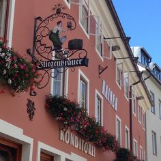 Villach, Austria. Formerly a brewery, now a confectionery shop. (Photo by F.D. Hofer.) #beer #austria