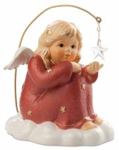 M.I. Hummel Sitting Angel (Red) 828134