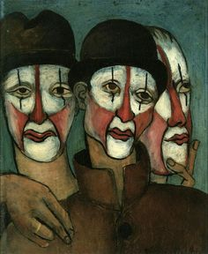 Three Mimes - Francis Picabia 1936 French 1879-1953