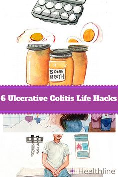Living with Ulcerative Colitis isn't easy. Take control of your UC with these 6 great life hacks.
