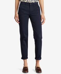 Lauren Ralph Lauren Straight-Leg Stretch Pants - Autumn Sage 10