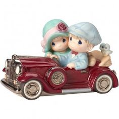 """Valentine's Day Gifts, """"Our Love Is Timeless"""", Limited Edition, Bisque Porcelain Sculpture - Precious Moments"""