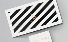 Black & White stripes are very much IN. Not only in fashion, interior design & others. There's also a place for it in Identity Design which is being fully proved by Jake Brandford in his la...