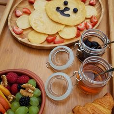 KIds love it - breakfast at our glamping resort Chateau Ramšak; Slovenia