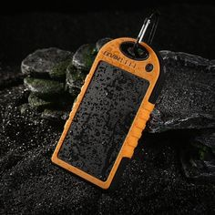 The Levin USB Solar Charger ($31.99) for backup power anywhere.