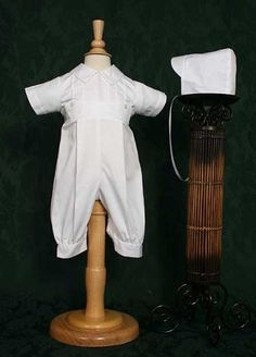 Cotton Coverall - Available in 6 Month (13-16 lbs) 12 Month (17-22 lbs) 3 Month (8-12 lbs) $74.00