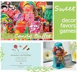 Delightful Events by Mariela Jane: Candy Theme First Birthday