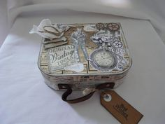 Weiteres - Geldgeschenk  Geburtstag Geschenkschachtel Box - ein Designerstück von Froehlich-Elena bei DaWanda