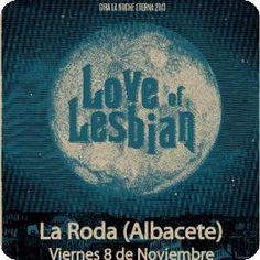 Concierto de Love of Lesbian en La Roda