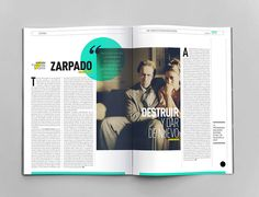 El Amante magazine on Editorial Design Served