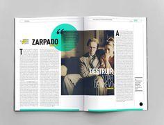 El Amante magazine on Editorial Design Served