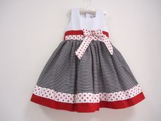 This sock monkey dress is adorable! Perfect for a Sunday Funday! Little Dresses, Little Girl Dresses, Cute Dresses, Girls Dresses, Toddler Dress, Baby Dress, Frock Patterns, Kind Mode, Doll Clothes