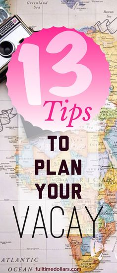 HP | Full-Time Dollars • Personal Finance & Lifestyle ••• How do you plan for a trip in order for you to fully enjoy your time away from home? I have compiled a list of tactics that will help you with just that! | Travel Tactics | Planning Travel | Travel