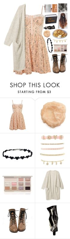 """""""Lily (OC)"""" by crazydirectionergirl ❤ liked on Polyvore featuring Charlotte Russe, Too Faced Cosmetics, Monki and Aesop"""