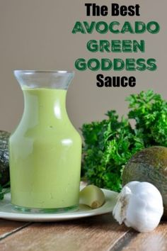 Green Goddess Dressing is full of good-for-you veggies and herbs, perfect for salads, but also ideal as a dipping sauce or spread for sandwiches.